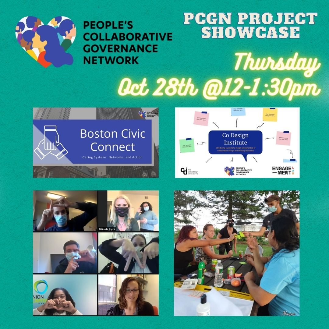 Image for 'PCGN Project Showcase: The Co-Design Process' event