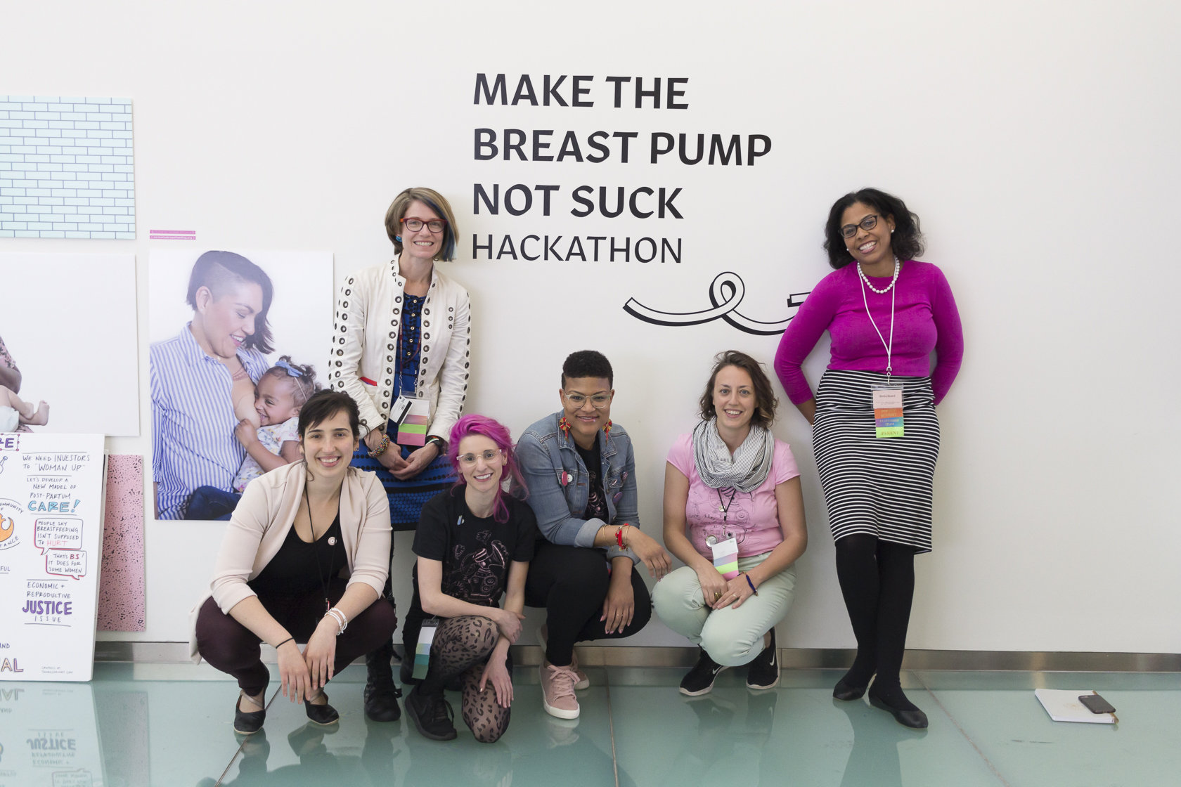 Image for 'Make the Breast Pump Not Suck Hackathon' event