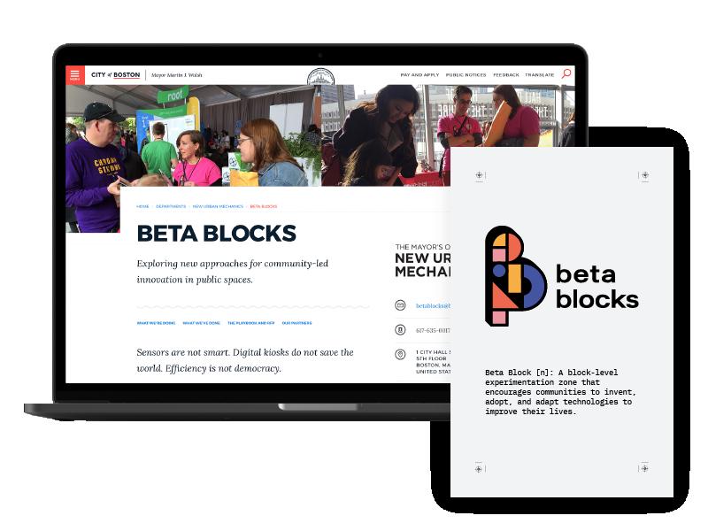 Thumbnail image for 'Beta Blocks' project