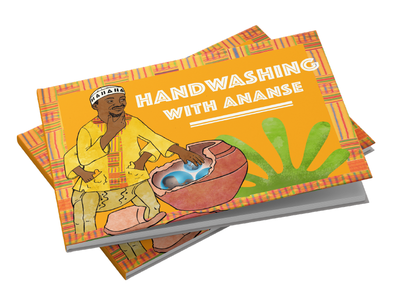 Thumbnail image for 'Handwashing with Ananse' project