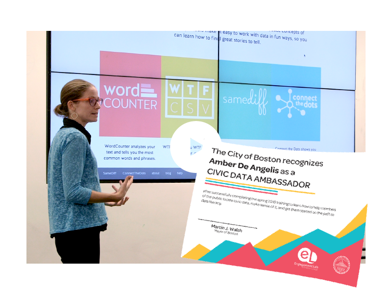 Thumbnail image for 'Civic Data Ambassadors' project