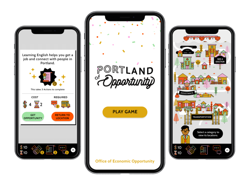 Thumbnail image for 'Portland of Opportunity' tool or resource