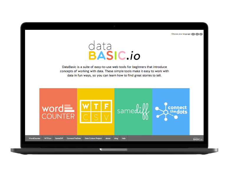 Thumbnail image for 'DataBasic' tool or resource