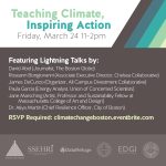 Teaching Climate 								Inspiring Action