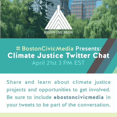 Climate and Civic Media 							Twitter Chat