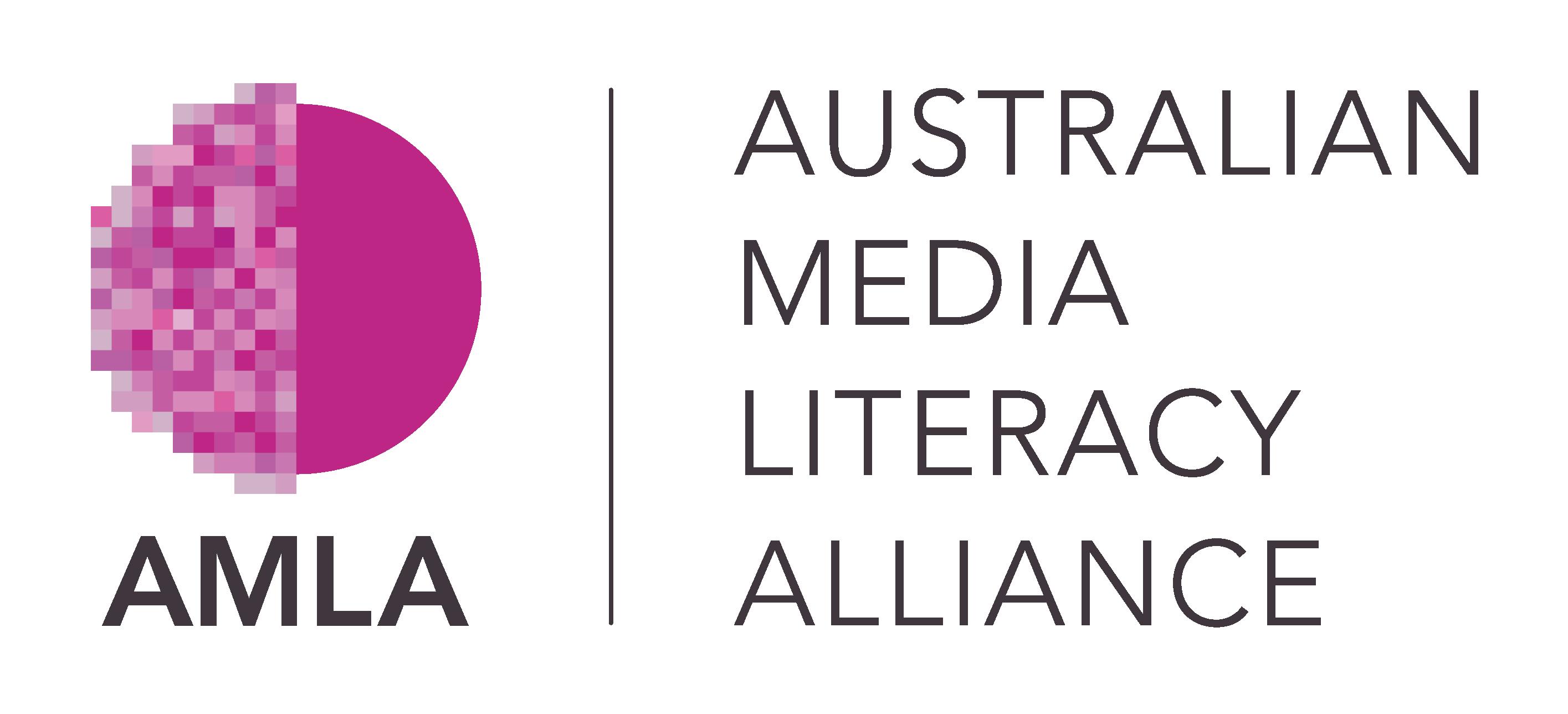 Logo for The Australian Media Literacy Alliance
