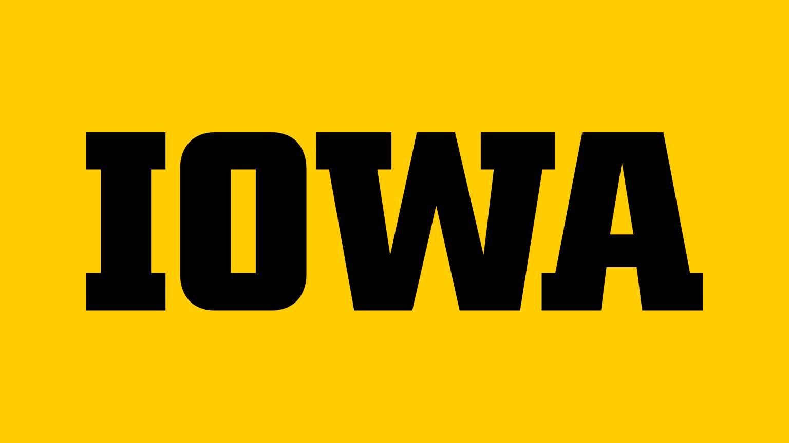Logo for University of Iowa