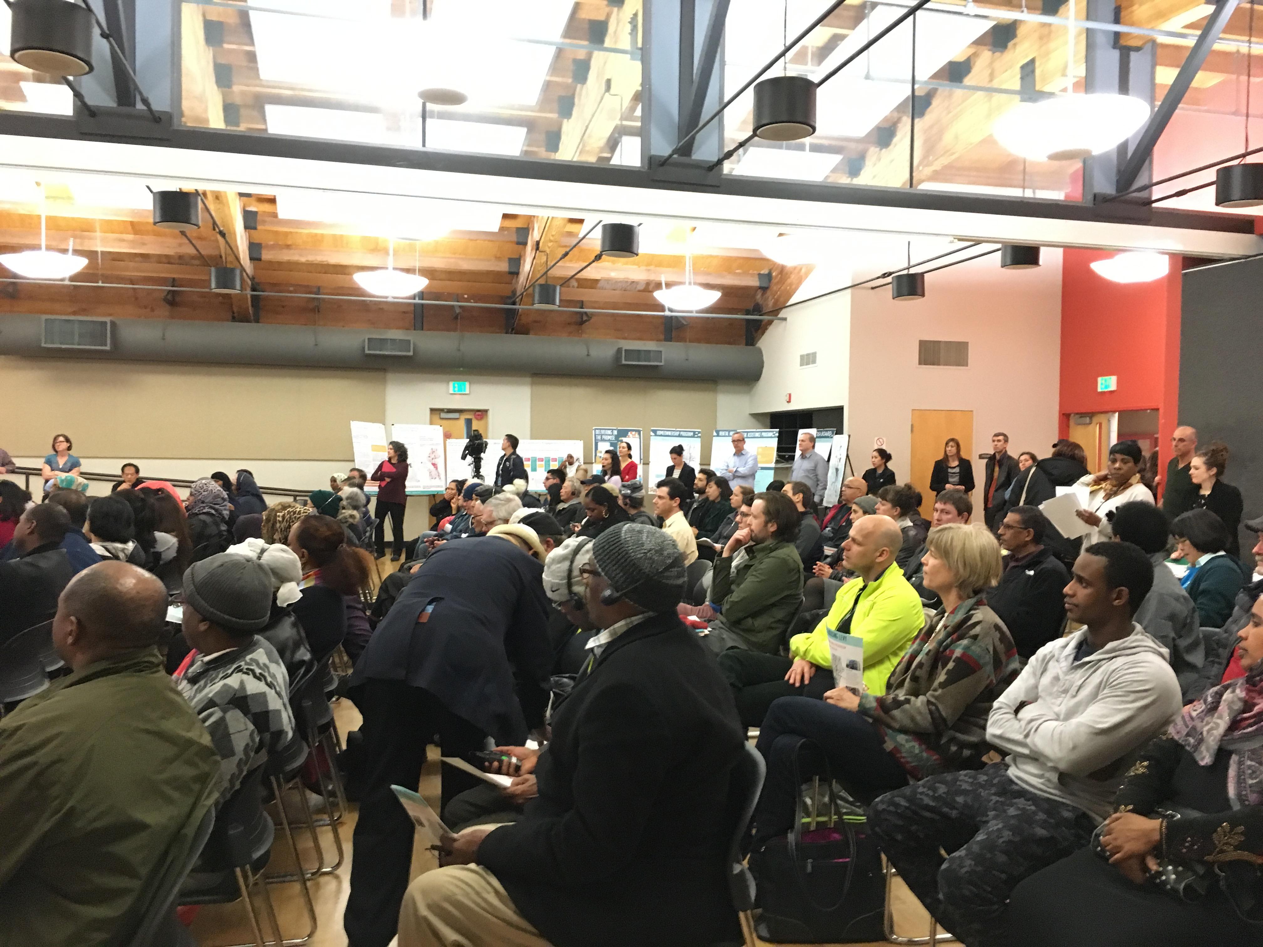 Community Meeting in Seattle