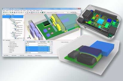 FloTHERM Automatically Calibrates Simulations to Bench Model