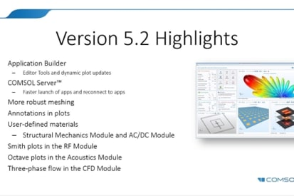 COMSOL Multiphysics 5 5 Is Evolutionary > ENGINEERING com