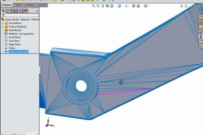 Importing and Editing STL Files in SOLIDWORKS - CAD Tutorials