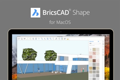 BricsCAD Shape: A New Concept Modeler – But SketchUp Is
