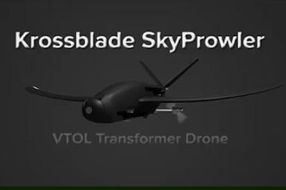 SkyProwler - VTOL UAV Transforms to Fast Fixed Wing Cruiser