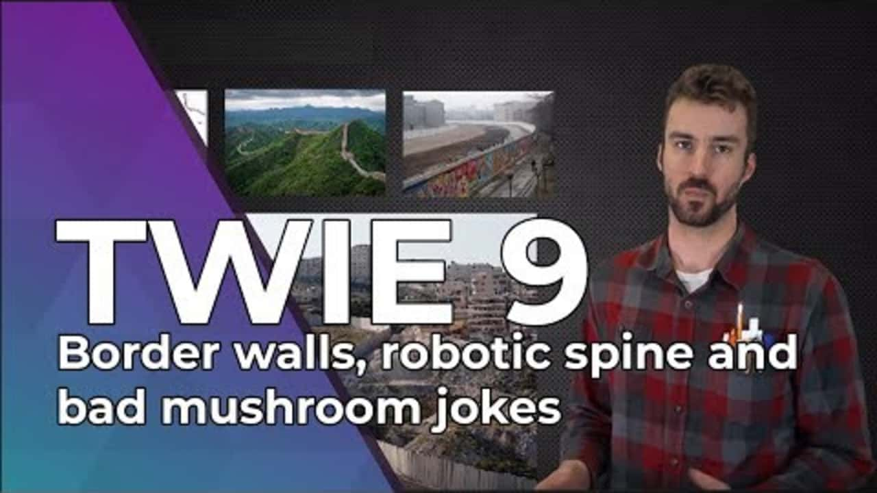 Videos Dolphin Pool Cleaner Wiring Diagram Twie 9 Border Walls A Robotic Spine And Mushroom Jokes