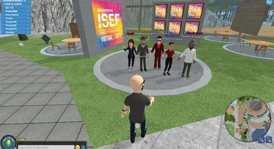 From Avatars to Virtual Booths: How ISEF 2021 Kept Participants Engaged