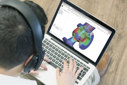 Free engineering software for students engineering academic program offers engineering students cae simulation over the cloud fandeluxe Gallery