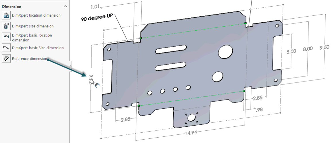 How To Define The Mbd Data Of Sheet Metal Parts