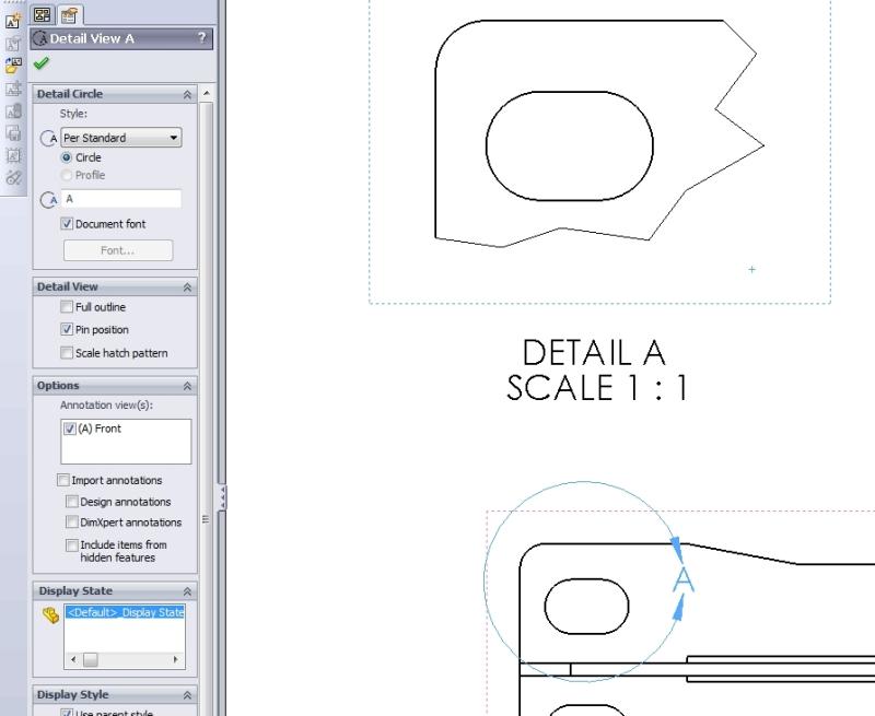 Jagged Edge In Solidworks Detail View - DASSAULT: SOLIDWORKS