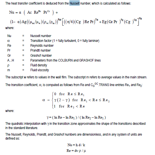Nusselt number equation for internal flow Heat Transfer& Thermodynamics engineering Eng Tips