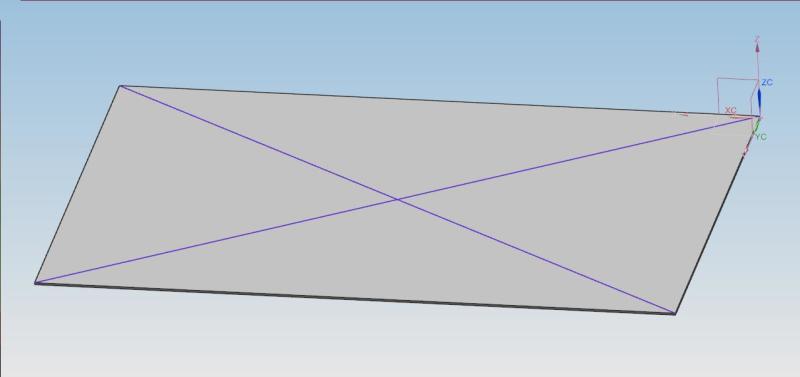 Creasing Cross Breaking Sheetmetal Parts Siemens Ug Nx
