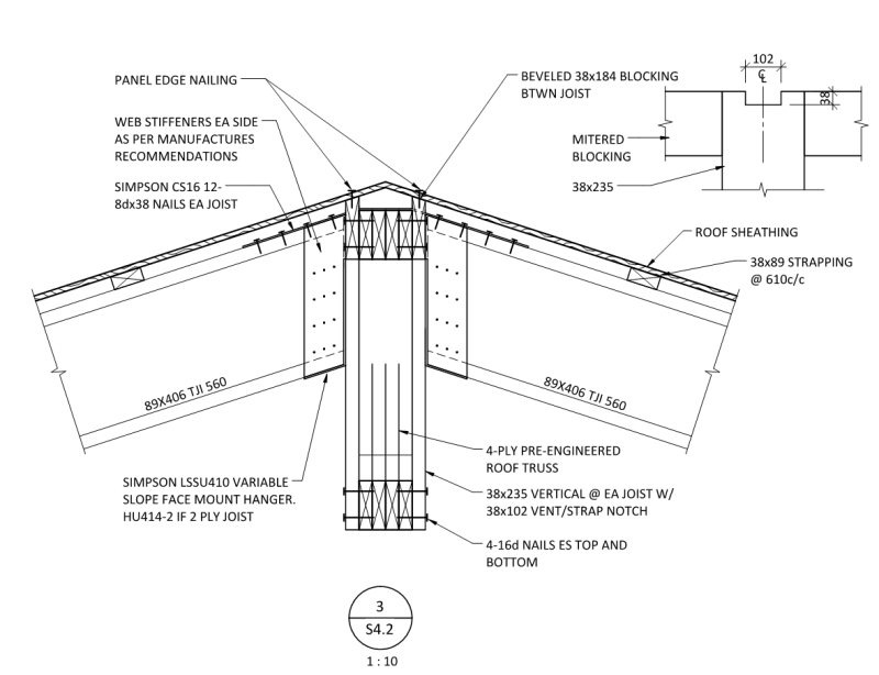 Wood Gable Roof Diaphragm Structural Engineering General