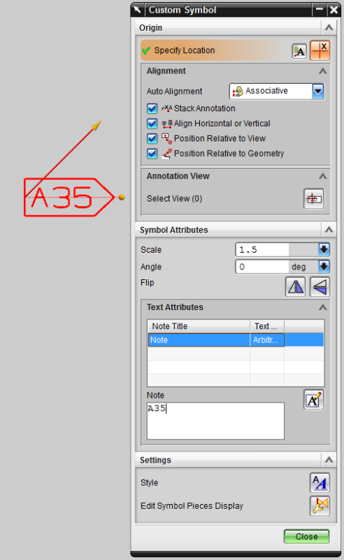 Nx 75 Editing Custom Symbols Inside Notes Siemens Ugnx Eng Tips