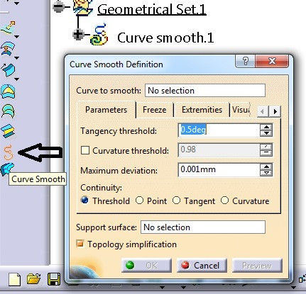 Continuous Polyline in Drafting - DASSAULT: CATIA products - Eng-Tips
