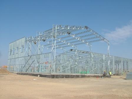 Light Gauge Steel Truss 28m Clear Span Structural