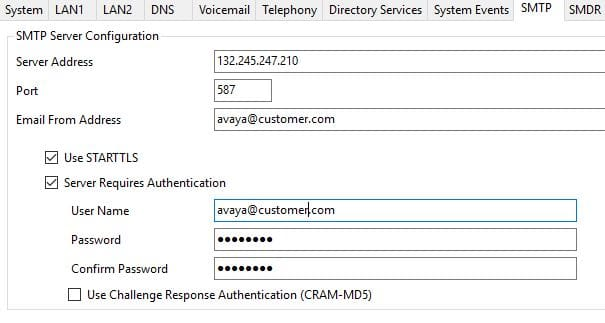 VM to email and Office365 - Avaya: IP Office - Tek-Tips