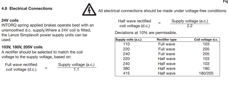 brake rectifier electric motors \u0026 generators engineering eng tips 4 Wire Rectifier Wiring