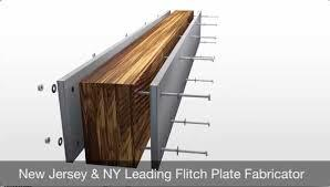 Wood Beam Steel Bolted Together Structural