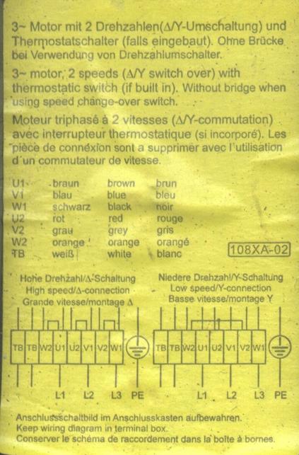 fan sd and Voltage - Electric motors & generators ... Dahlander Motor Wiring Diagram on