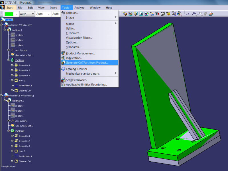 CATIA VBA macro for comparing 2 CATParts - DASSAULT: CATIA