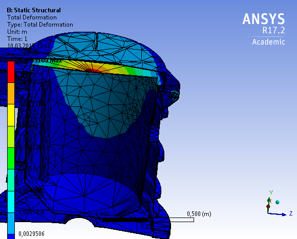 ANSYS Workbench contact problem - ANSYS: ANSYS Software