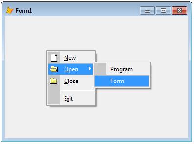ContextMenu in VFP 9 SP - Microsoft: FoxPro - Tek-Tips