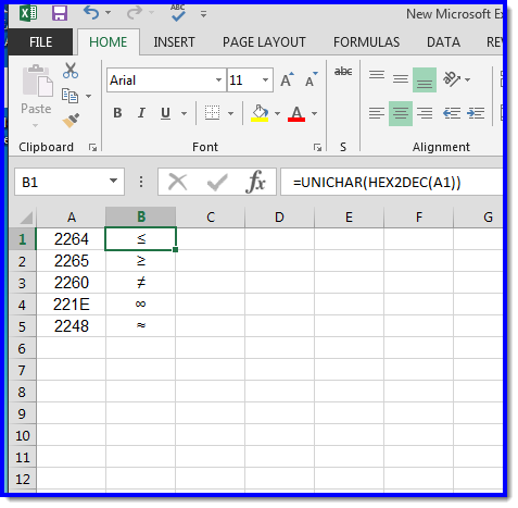 Symbols In Excel Engineering Spreadsheets Eng Tips