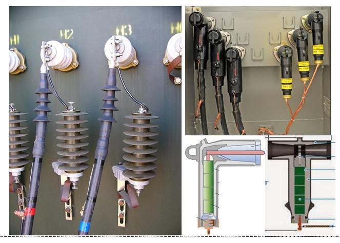 Transformer Cable Surge Arrestor Connection Electric