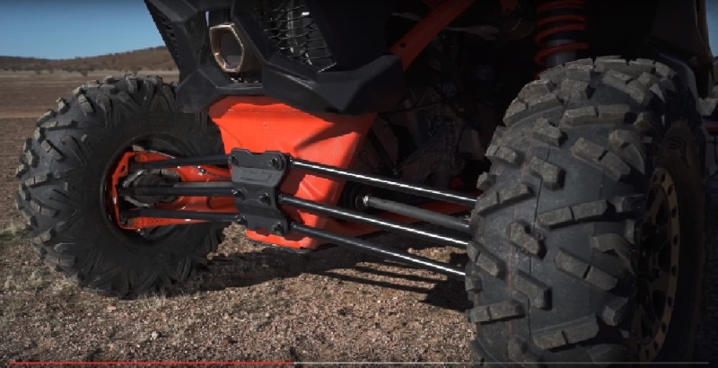 Independent single trailing arm suspension w/lateral links  Further