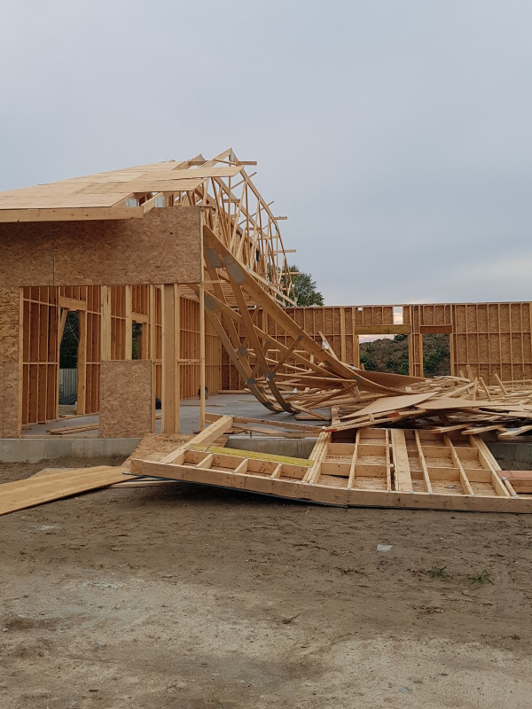 Wood-Frame Failures During Construction - Engineering