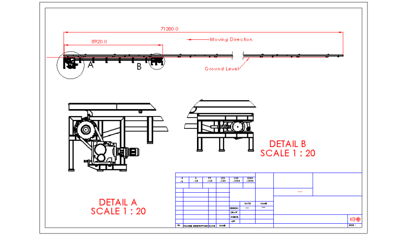 Chain Conveyor Tension - Commercial product engineering general