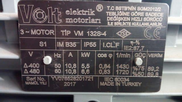 Rotary converter 230V mains to 415V 3 phase DIY plans