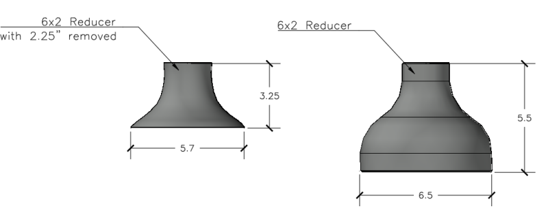 How to size a bell mouth intake/supply? - HVAC/R engineering - Eng-Tips
