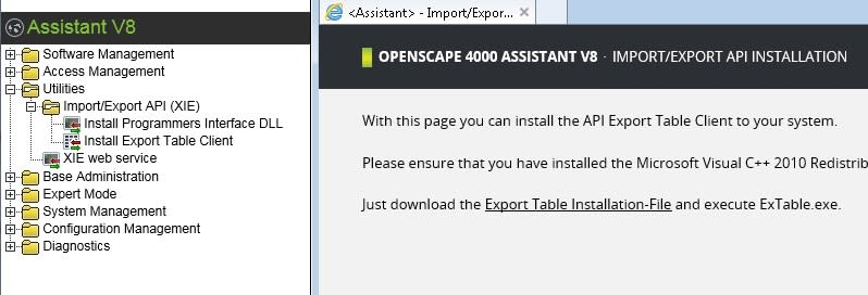 OpenScape 4000 V7 Assistant station search copying data