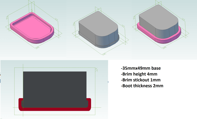 TPU Boot Cover Interference Fit - Plastics Engineering