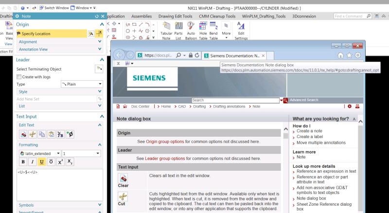 Nx Documentation Error Siemens Ug Nx Eng Tips