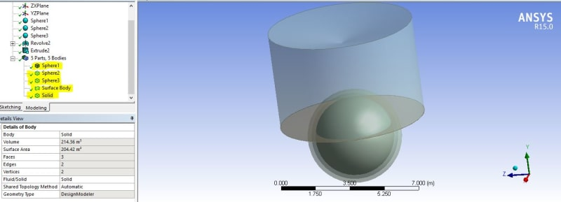 Problem in Cutting some bodies in Ansys Design Modeler - ANSYS