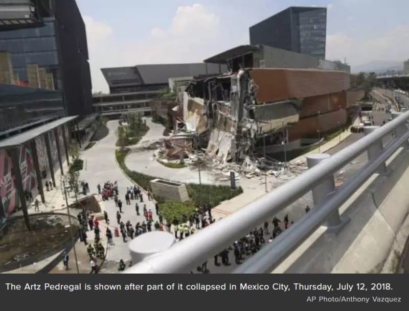 Mexico City Shopping Mall Collapse - Engineering Failures