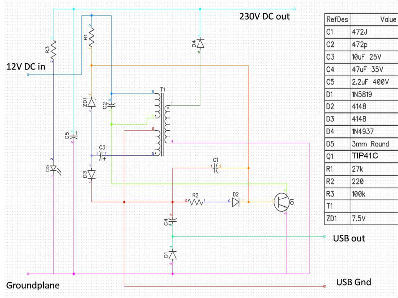 transformer phase shift - how to measure with oscilloscope - Circuit