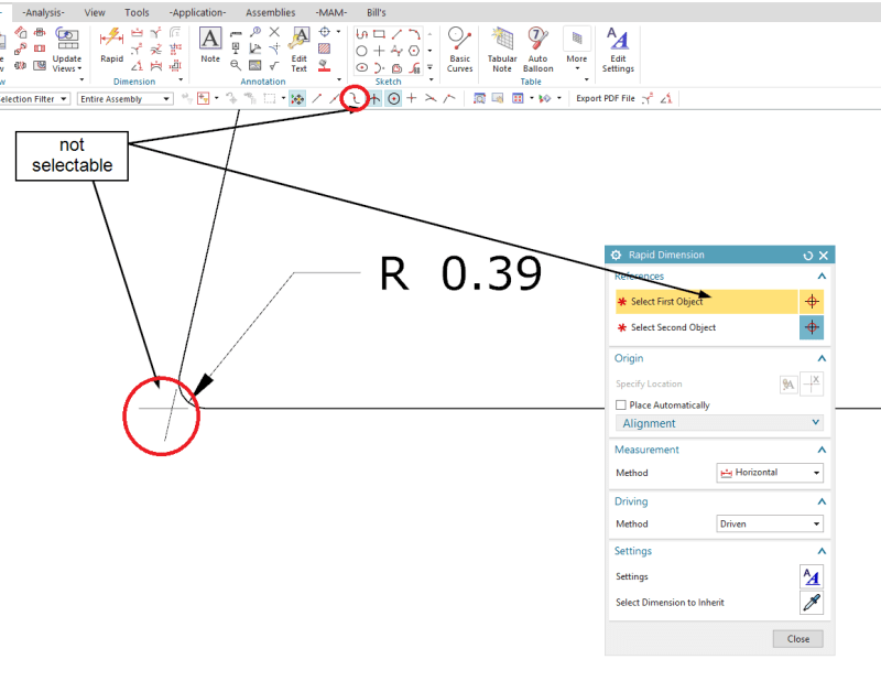 Dimensioning To Theoretical Sharps And Hole Center Symbols Siemens