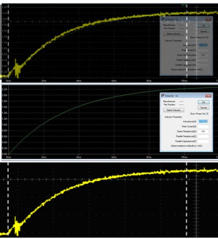 transformer phase shift - how to measure with oscilloscope